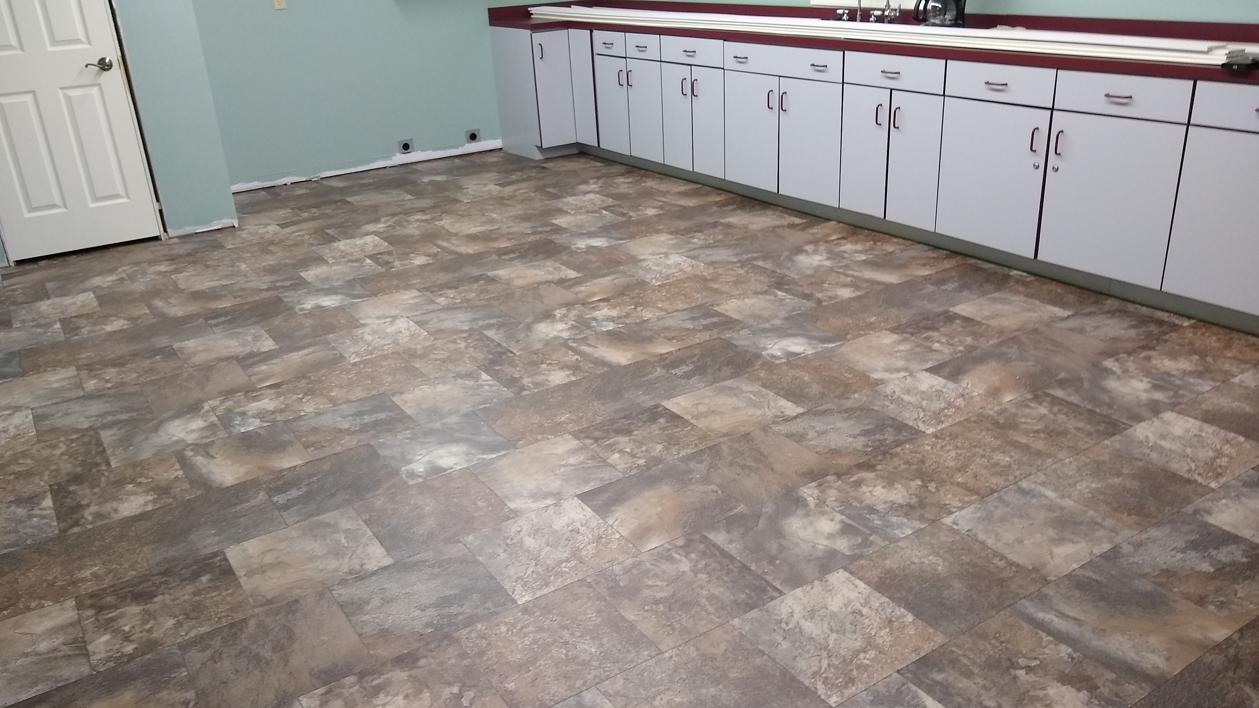 Church Kitchen Meets Its New Floor
